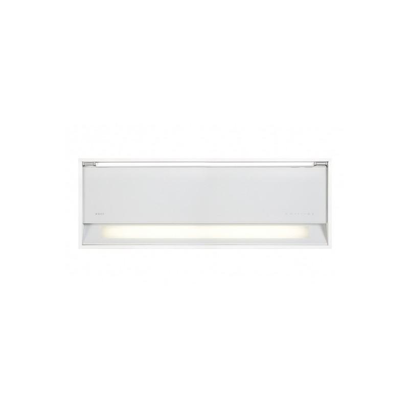 686  NOVY Fusion 90 cm verre blanc