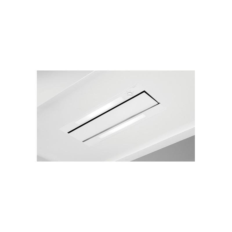 876  NOVY Groupe encastrable 83,8 cm verre blanc
