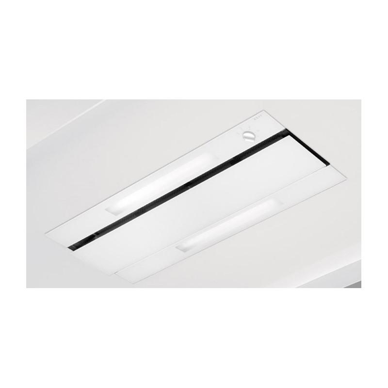 878  NOVY Groupe encastrable 83,8 cm 2xmoteur verre blanc
