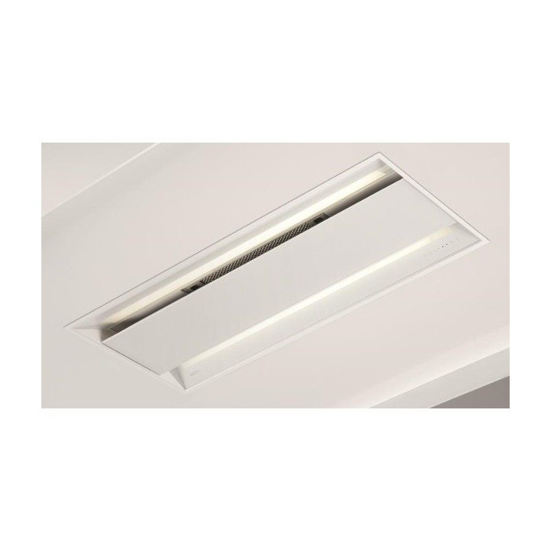 899 NOVY Touch 86 cm verre blanc avec télécommande