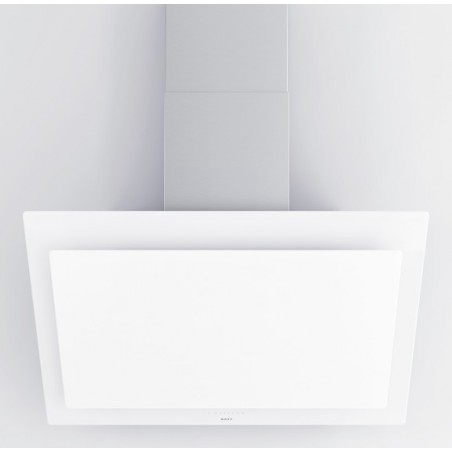 7831 NOVY Hotte murale vision 90cm verre blanc