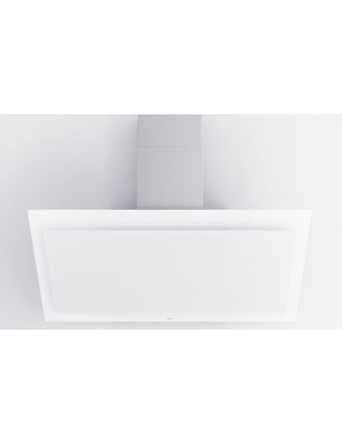 7841 NOVY Hotte murale vision 120cm verre blanc
